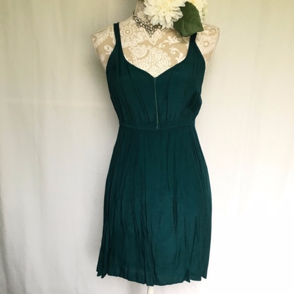 c0a59031 Urban Outfitters Dresses | Staring At Stars Forest Green Tank Dress ...